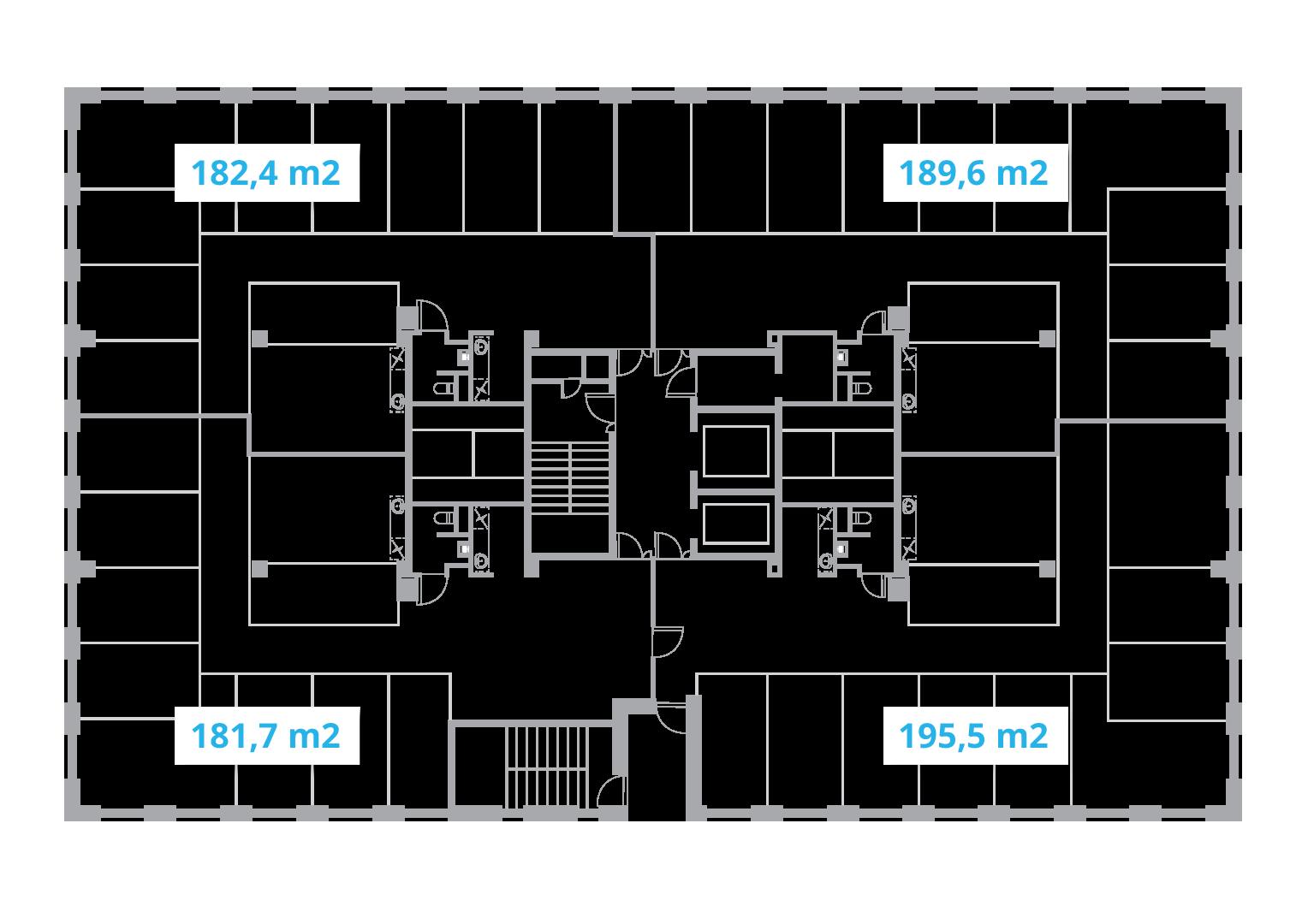 lootsa 12 technopolis Ulemiste example floor plan of the alexandre liwentaal office building
