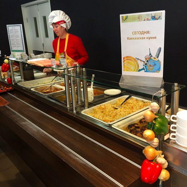 В ресторане петербургского «Технополиса» прошел день грузинской кухни